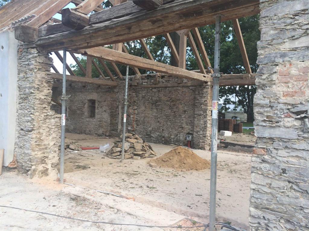 Stodola Herink - Kompletní rekonstrukce pivnice