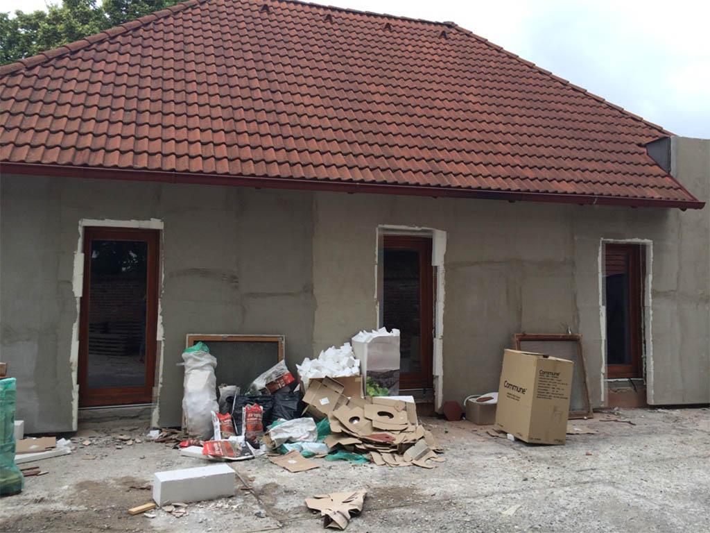 Stodola Herink - rekonstrukce budoucí restaurace