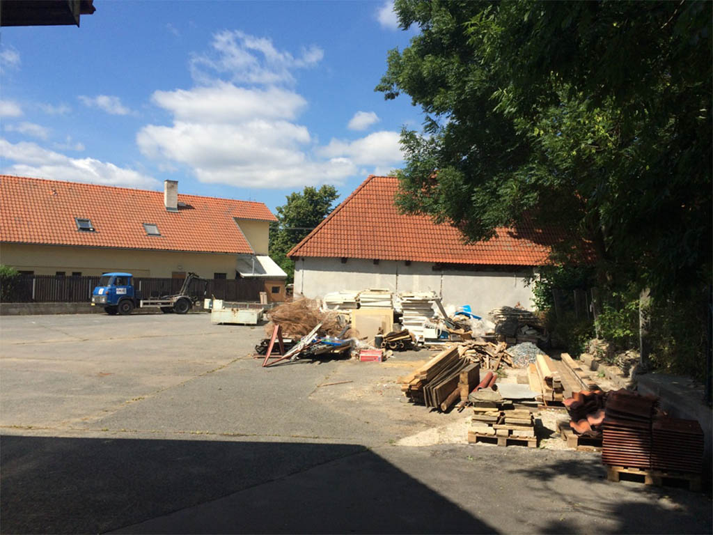 Stodola Herink - rekonstrukce pivnice