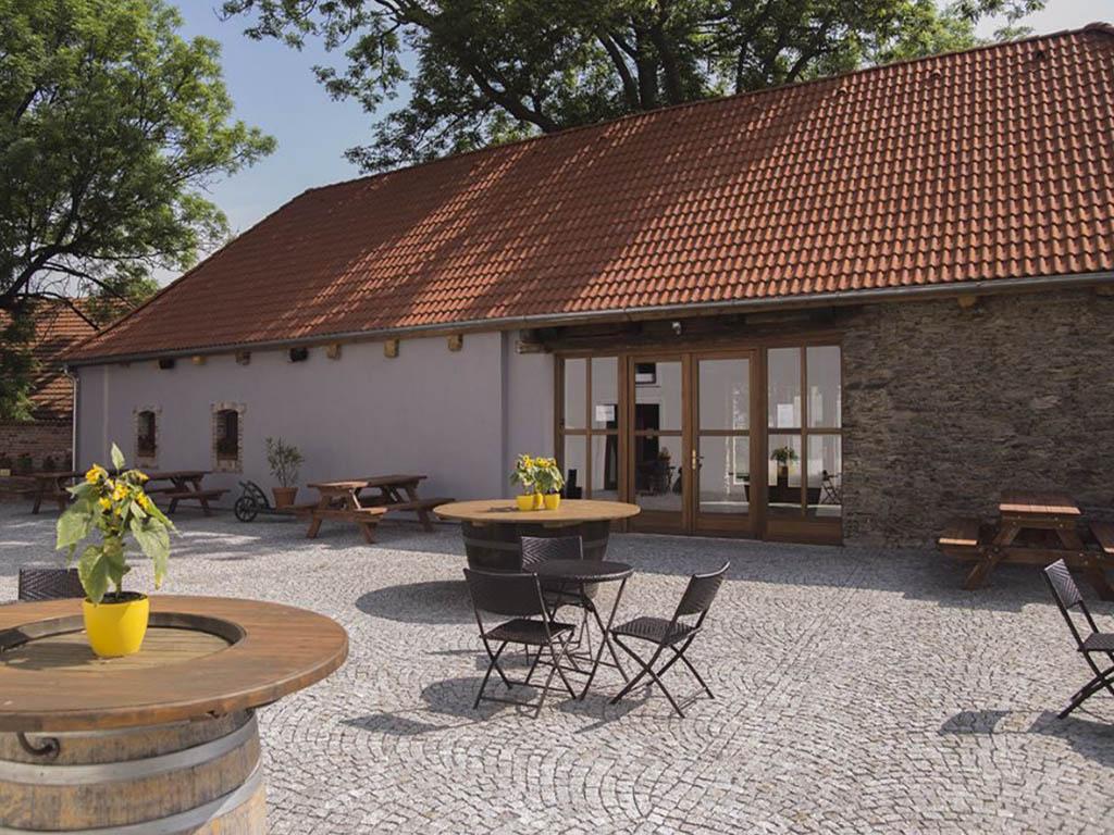 Stodola Herink - pivnice po rekonstrukci 2015