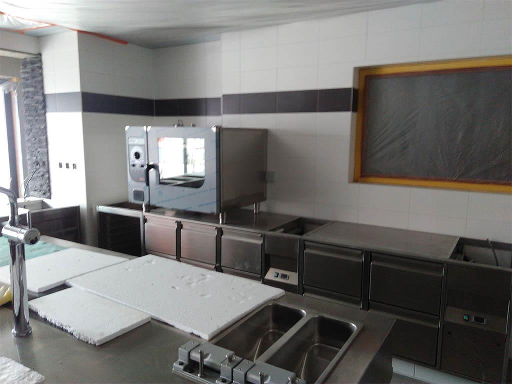 Stodola Herink Stavba Restaurace - Kuchyně