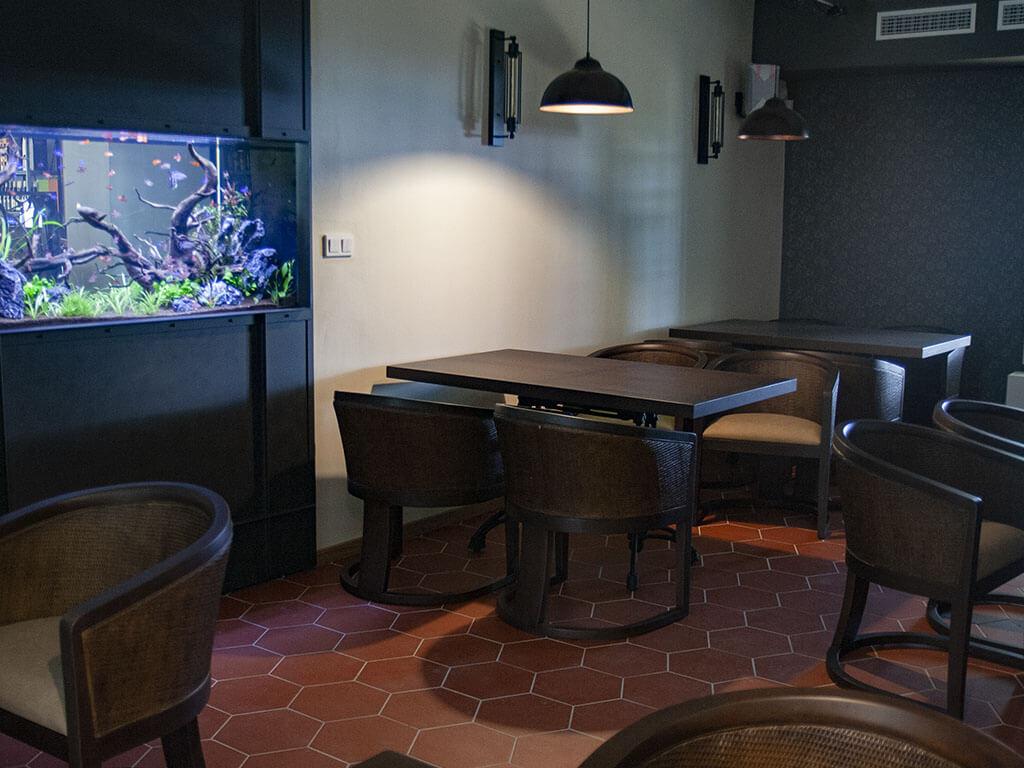 Stodola Herink Restaurace Interiér